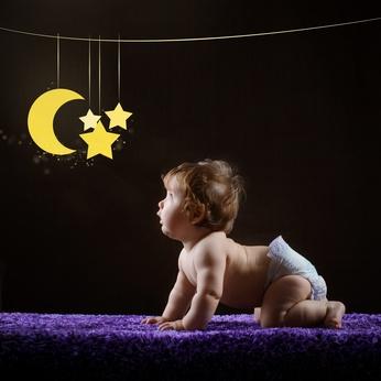Baby und Sterne