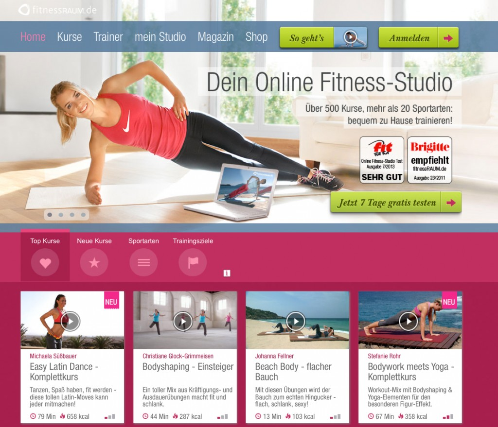 fitnessRAUM_Screenshot01