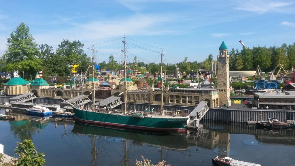 Hafen miniaturwelt